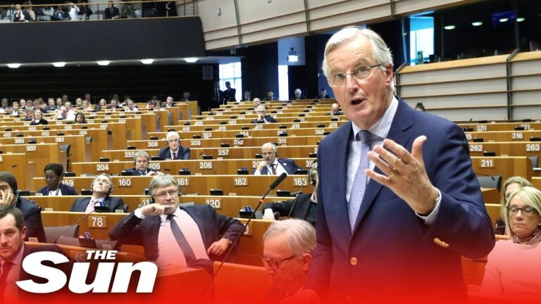 Boris Johnson's Brexit deal slammed by Michel Barnier