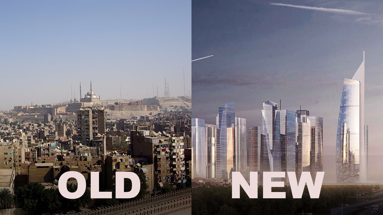 Building Egypt's $58BN New City in the Sand   The B1M