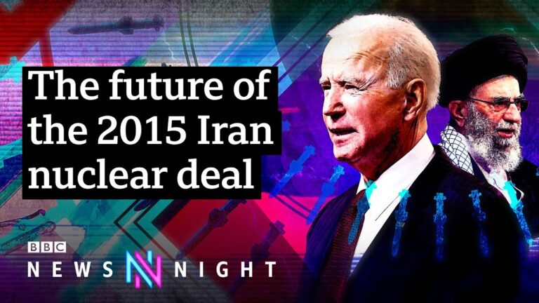 Can the 2015 Iran nuclear deal be saved? - BBC Newsnight