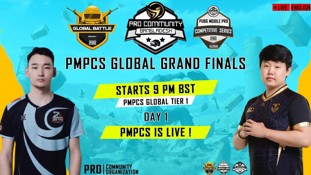 (ENG) PMPCS GLOBAL TIER 1 - SEASON 1 Finals    Day - 5   Timeburner Gaming