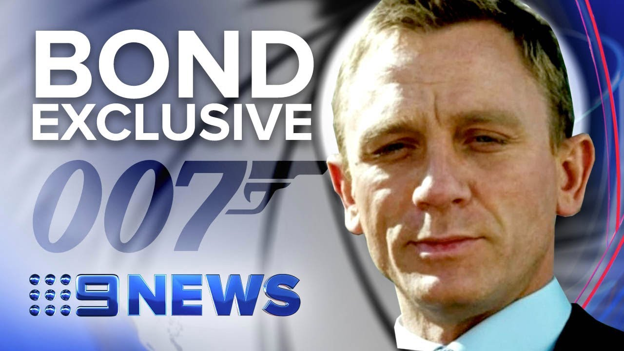 Exclusive interview with 007 Daniel Craig in Jamaica   Nine News Australia