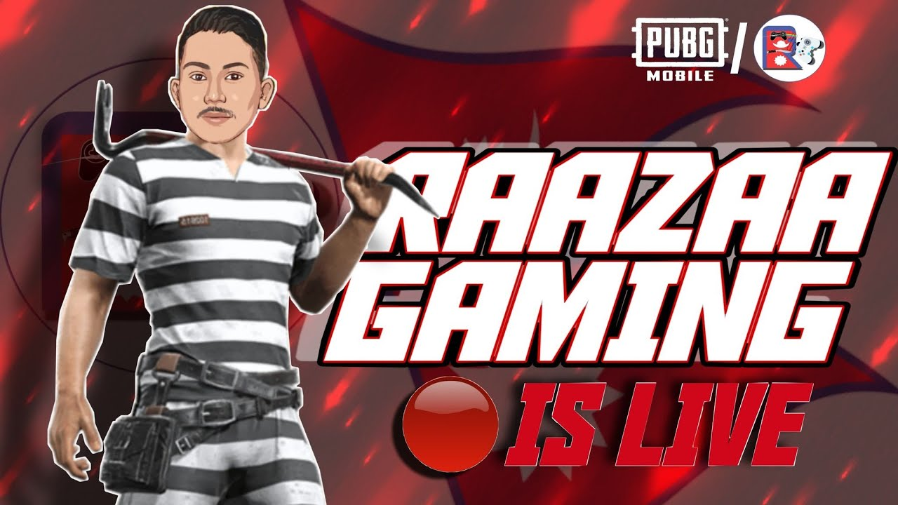 GIVEAWAY ALERT  ROAD TO 10K  PUBG MOBILE LIVE WITH FACECAM   RAAZAA GAMING IS LIVE