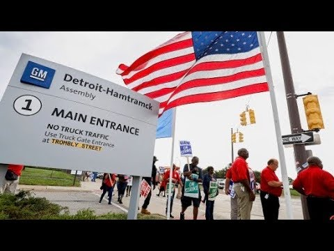 GM and UAW strike in 4th week, at deadlock over pay