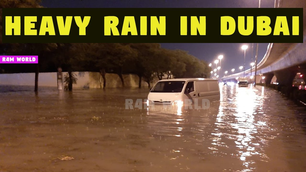 HEAVY RAIN IN DUBAI | Rain in Dubai today | HEAVY RAIN IN UAE | DUBAI RAIN AFTER EFFECT |