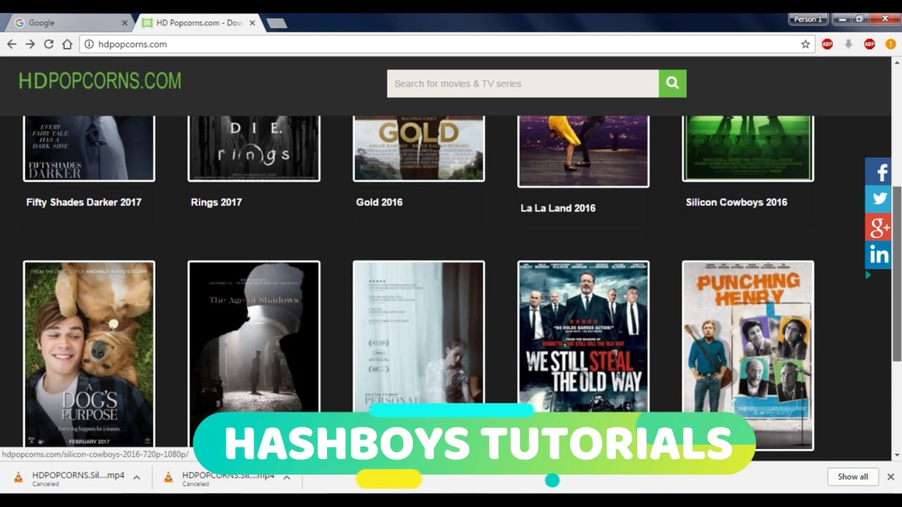 How To Download Movies In HD 720p/1080p With Subtitles