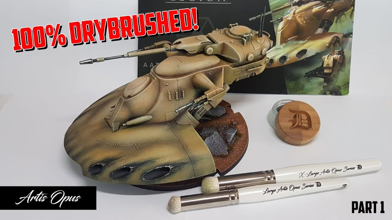 How to paint: AAT Battle Tank for Star Wars Legion - Part 1