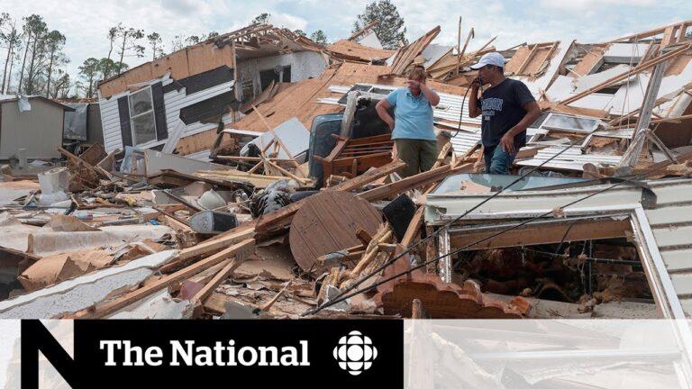 Hurricane Laura leaves trail of destruction in Louisiana