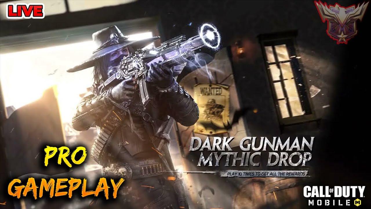 LIVE CALL OF DUTY | Dark Gunman Mythic Drop | BATTLE ROYALE GAMEPLAY COD MOBILE LIVE STREAM 24/7