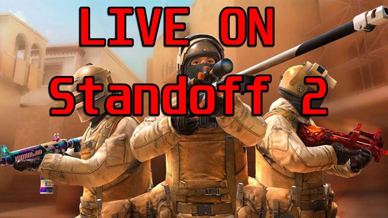 Live ON Standoff 2   GOLDS DE GRAÇA PARA TODO MUNDO 🔥🔥