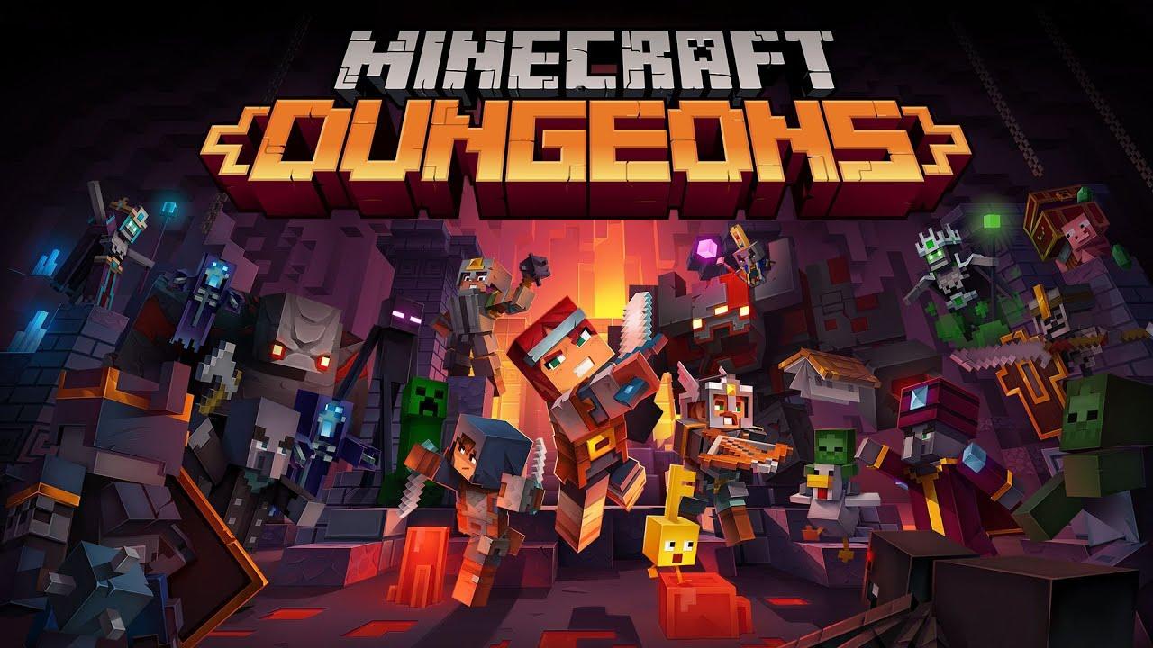 Minecraft - Dungeons  Gameplay - Part 13 PS4 PRO - Live stream