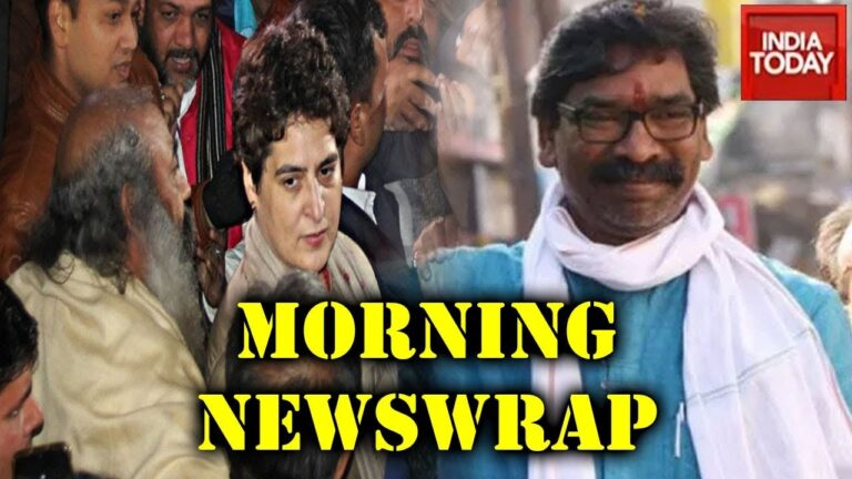 Morning Newswrap   Top Headlines Of The  Day   India Today   Dec 29, 2019