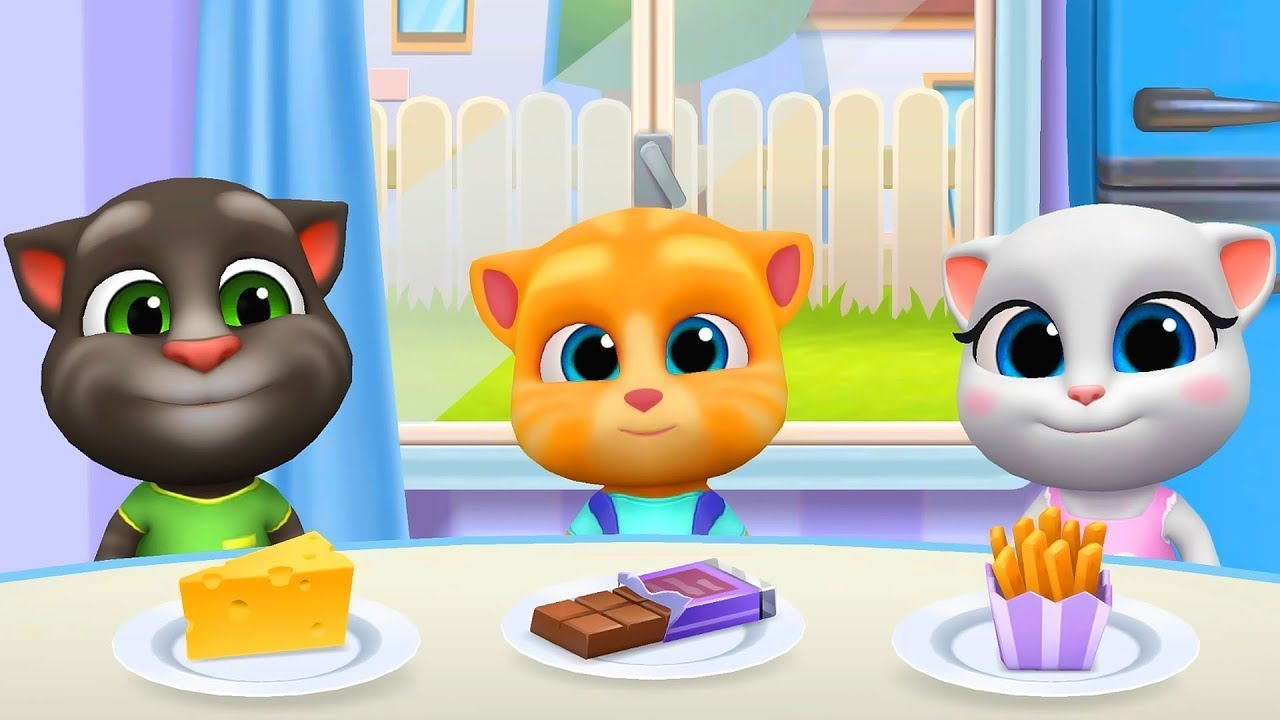 🟢My Talking Tom Friends Virtual Pets Little Kitten Simulator android gameplay
