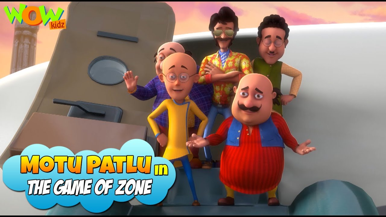 New Movie | MOTU PATLU In The Game Zone | Full Movie | Wow Kidz