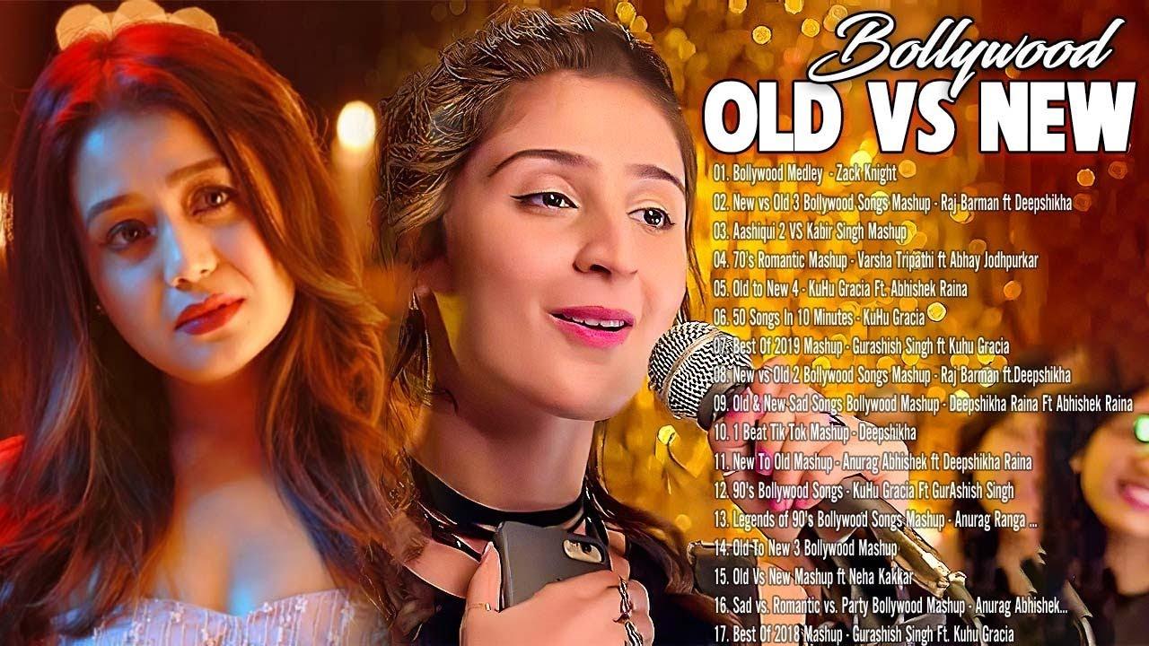 Old vs New Bollywood Mashup Songs 2021 - Romantic Hindi Love MASHUP_90s Hindi Remix Mashup