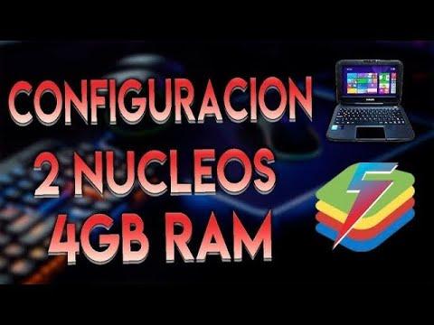 ❤PROBANDO 🔑 BLUESTACKS 5.240 ❤ CON 2 NUCLEOS Y 4GB DE RAM🔑 EN LIVEpe mi king❤