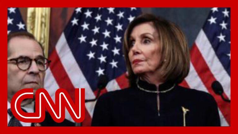 Pelosi says she won't send impeachment articles to Senate yet
