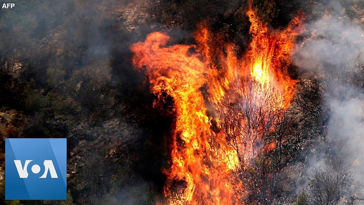 Raging Forest Fires in Lebanon
