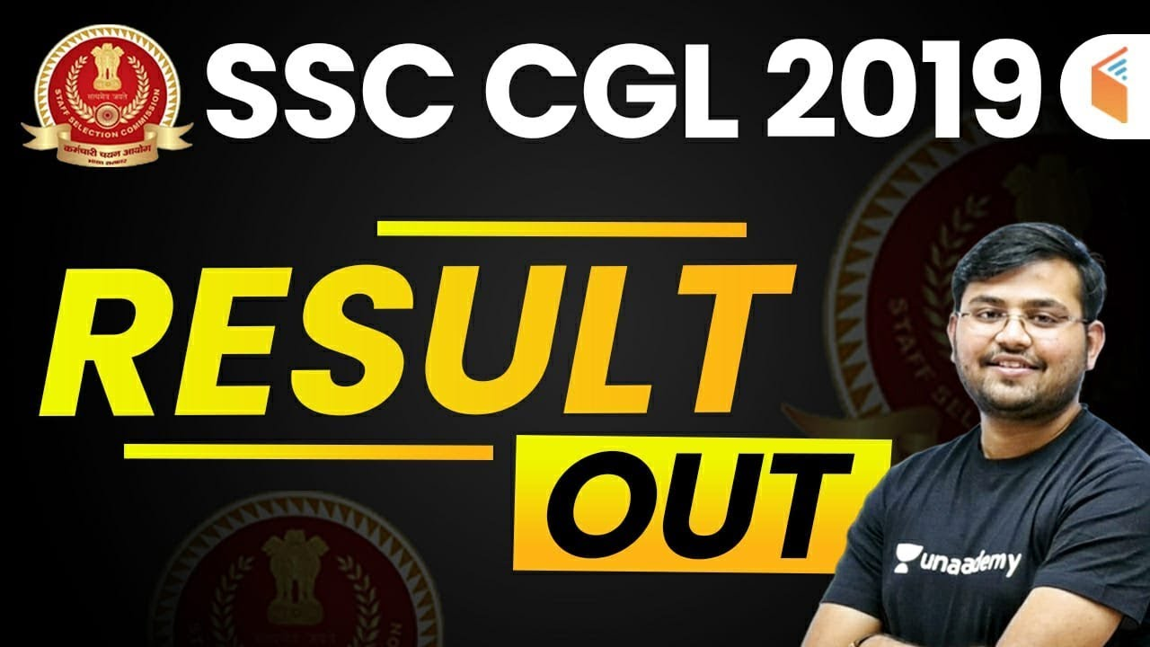SSC CGL 2019 Pre Result Out | SSC CGL Tier-I Result | CGL Tier-I Cut Off - Check Now