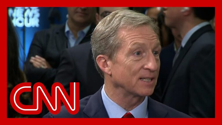 Tom Steyer says Trump is a fake on the economy