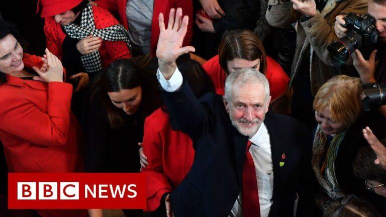 UK election: Trump attacks Labour leader - BBC News