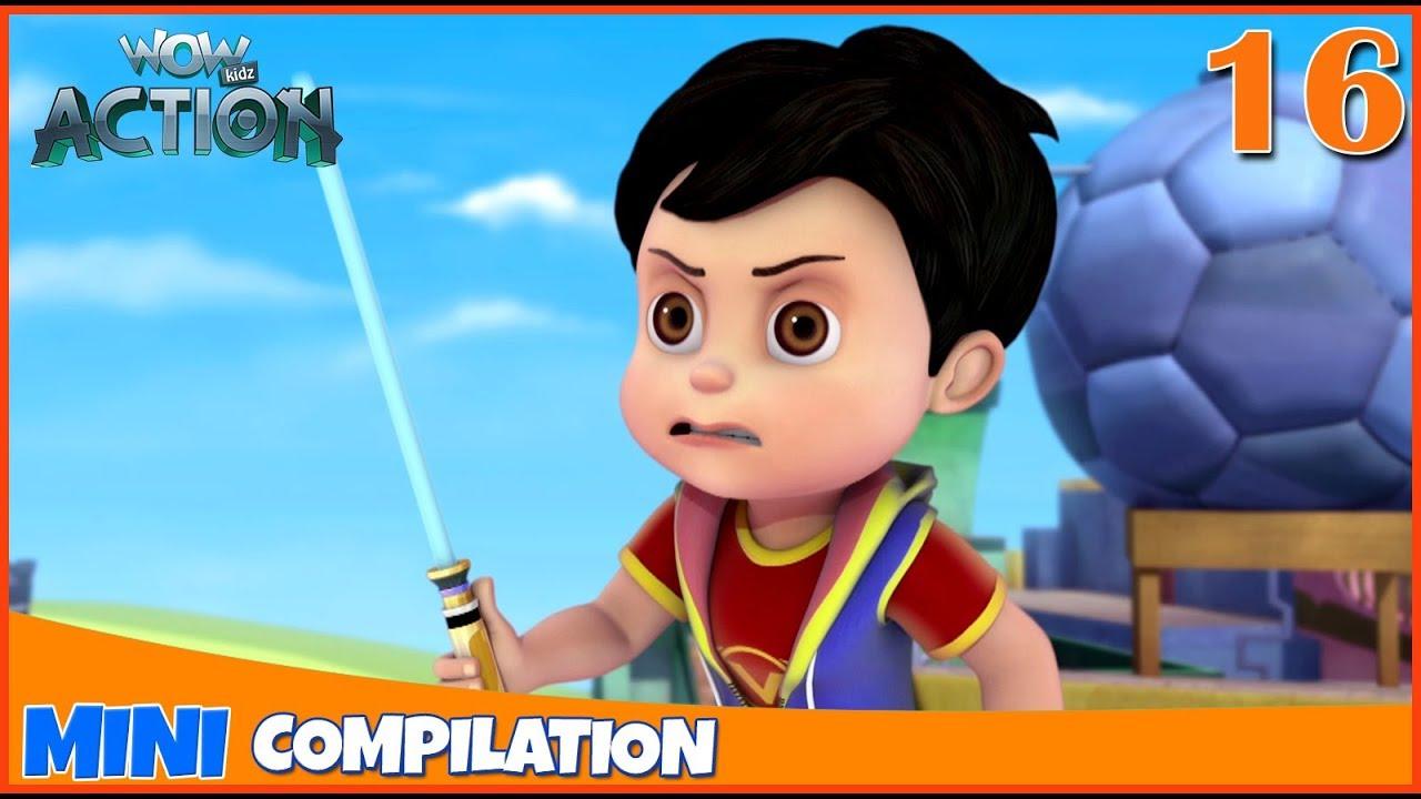 Vir The Robot Boy | Mini series | Compilation - 16 | 3D cartoon for kids | WowKidz Action